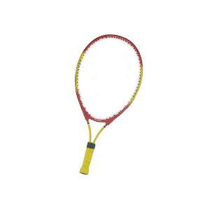 送料無料|CALFLEX カルフレックス 硬式 キッズ用 テニスラケット 専用ケース付 レッド×イエロー CAL-21-III|b03|panfamcom