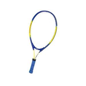 送料無料|CALFLEX カルフレックス 硬式 キッズ用 テニスラケット 専用ケース付 イエロー×ブルー CAL-23-III|b03|panfamcom