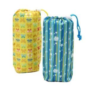 ポイント消化 全2色 ペットボトル カバー ボトルケース ポップなデザイン 水筒カバー イエロー ブルー 可愛い|b01|panfamcom