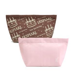 在庫処分 ランチバッグ 弁当バッグ クーラーバッグ 保温・保冷バッグ マジックテープ ブラウン ピンク 通勤 通学 部活 中学生 高校生 大人 全2色|b01|panfamcom