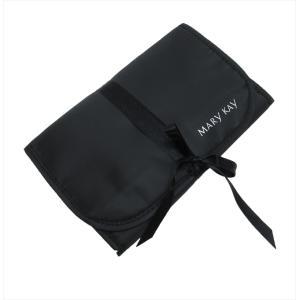 訳あり メアリーケイ MARY KAY ブラックカラー リボン付き 多機能 ポーチ 小物入れ 便利 レディース ブラック|b01|panfamcom