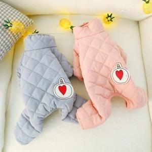 ペット服 犬 服 犬の服 ペット服 秋冬 暖かい ふわふわ 可愛い 四足 選べる2色 Panni  送料無料|panni-fashion