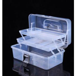 救急箱 薬箱 収納ボックス 大容量 小物入れ 整理 手提げ 薬ボックス 多機能 三段式 小物整理ボックス 収納ケース 小さい薬ボックス シンプル 軽量 M/Lサイズ|panni-fashion