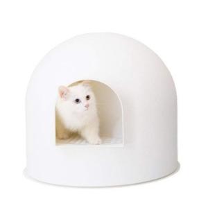 pidan 猫トイレ 本体ドームタイプ 大きい 雪屋 消臭抗菌 散らかりにくい 7kgまでの猫用|panni-fashion