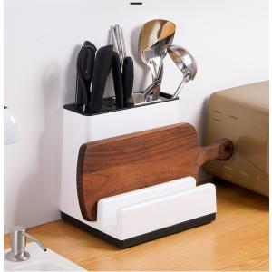キッチン収納 包丁スタンド まな板スタンド ナイフスタンド 置き型  包丁立て ナイフ収納 調理小道具たて キッチンラック 台所用品 キッチン収納 多機能|panni-fashion