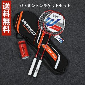 バドミントン ラケット バドミントンラケット 二点入り 2本組 セット品 選べる4色 軽量 Panni 送料無料|panni-fashion