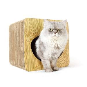 Panni 多用途 猫爪ドキ 猫用 ベッド 鈴入り ドーム型ベッド ペットハウス キャットハウス スツール ドッグハウス  ベッド ハウス 隠れ家 サイドテーブル|panni123