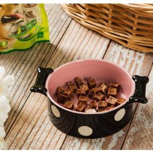 Panni かわいい ペットボウル 小型 中型 犬 猫用食器 フードボウル ウォーターボウル セラミック製 ご飯 水 お餌入れ 食器 ペット用品 panni123