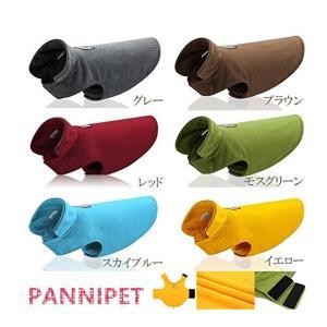 犬 冬服 フリースポンチョ  ペット服 保温防寒   ドッグウェア   ジャケット  パーカー ポーラーフリース  7サイズ 6カラーの画像