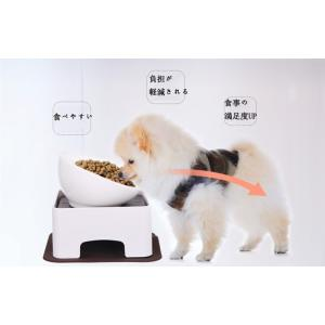 Panni ワンテーブル 小・中型犬用テーブル 猫犬用食器台 スタンド 滑り止めマット付き 食事マッ...
