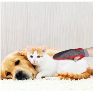 Panni ペット ブラシ 手袋 グローブ 毛取りクリーナー マッサージブラシ 犬用 猫用 抜け毛取り お手入れ|panni123