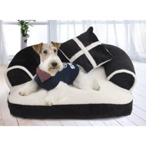 犬ベッド ペットベッド クッション 犬猫兼用 枕付き ふわふわ 柔らかい ぐっすり 選べる3色 panni123