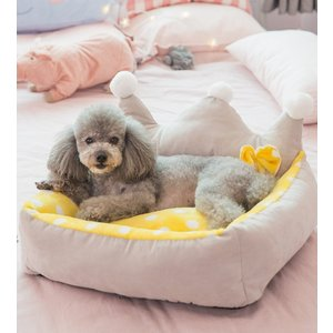 Panni ペットベッド ペットクッショマット 小型犬 猫 中型犬 ふわふわ 柔らかい 可愛い プリ...