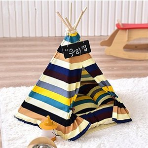 Panniペット小屋 ペット テント ままごと ハウス プレイテント 組み立てる簡単 クッション付属