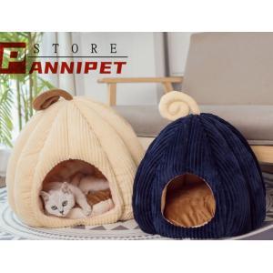 ペット ハウス 室内用 猫 犬 ドーム型 ペットマット ドームベッド秋冬小屋 全2色 panni123