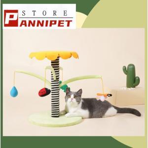 キャットタワー キャットおもちゃ 猫じゃらし 置き型 爪とぎ 登り 長持ち 頑丈 お昼寝 運動不足 遊び場|panni123