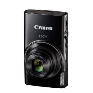 Canon コンパクトデジタルカメラ IXY 650 ブラック 光学12倍ズーム IXY650(BK...
