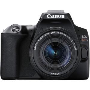 Canon デジタル一眼レフカメラ EOS Kiss X10ブラック(W)・EF-S18-55 IS...