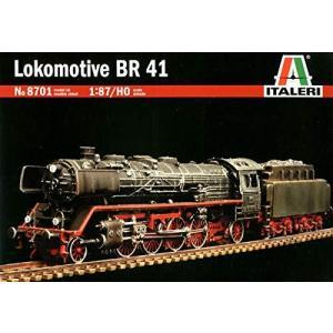 イタレリ 1/87 ドイツ 蒸気機関車 BR41 プラモデル IT8701