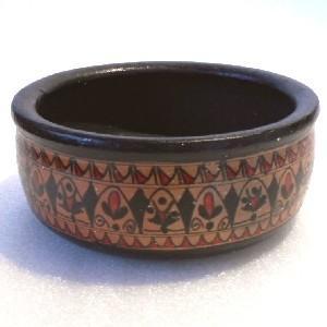 クリックポスト ×  トルコの陶器の町アヴァノスで作られているヒッタイト模様の陶器です。 アバノスの...