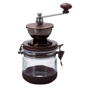 ハリオ・手挽き コーヒーミル・キャニスターミル CMHN-4|paocoffee