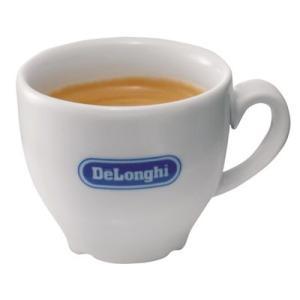 デロンギ・ロゴ入り エスプレッソ カップ&ソーサー・バラ1客|paocoffee
