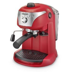 デロンギ・ エスプレッソマシンEC221(レッド) paocoffee
