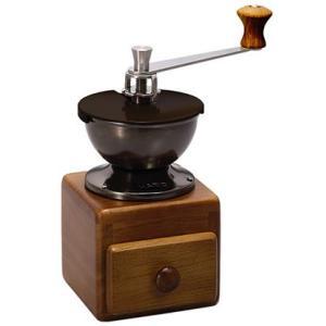 ハリオ スモールコーヒーグラインダー MM-2 手挽きコーヒーミル(手動式)|paocoffee