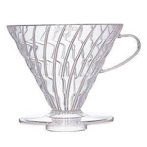 ハリオ・V60透過ドリッパー 03クリア 1〜6杯用 (コーヒー ドリッパー) paocoffee
