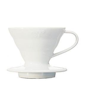 ハリオ・V60透過ドリッパー 01 セラミック 1〜2杯用 (コーヒー ドリッパー) paocoffee