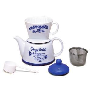 カリタ・ツーウェイ ドリップセット・ポエム 陶器製(2〜4人用)|paocoffee