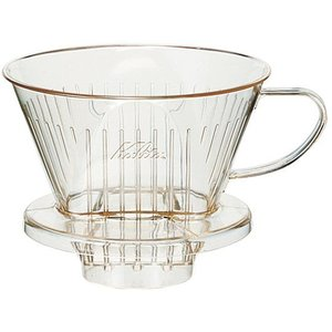 カリタ 透明樹脂 コーヒー ドリッパー 103Dロト(4〜7人用) paocoffee