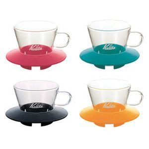 カリタ ガラス製 ウェーブドリッパー155(1〜2杯用) paocoffee