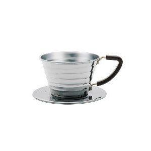 カリタ ステンレス製 ウェーブドリッパー155(1〜2杯用) paocoffee