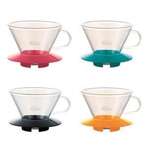 カリタ ガラス製 ウェーブドリッパー185(2〜4杯用) paocoffee