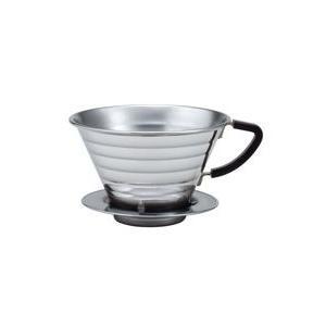 カリタ ステンレス製 ウェーブドリッパー185(2〜4杯用) paocoffee
