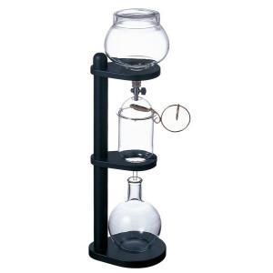 水出しコーヒー器具を使用した水で抽出したコーヒーは、カフェインやタンニンなどのコーヒーの成分が溶け出...