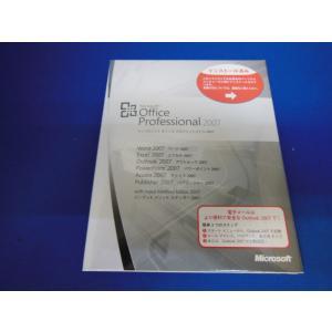 【新品】Microsoft Office Professional 2007 日本語版 DSP版+PCパーツ