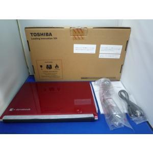 【アウトレット】東芝 dynabook R73/C  Win10/i3-7100U/8G/SSD256GB(カーマインレッド) DVDマルチドライブ内蔵 第7世代CPU|paoonsshop