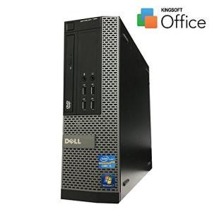 【中古】デスクトップ パソコンDELL 790-3100SFF Win7Pro Corei5-2400 3.1GHz/4GB/250GB/Sマルチ/Kingsoft Office 付属|paoonsshop