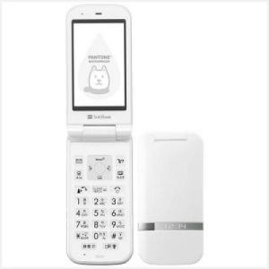 SoftBank PANTONE WATERPROOF 202SH ホワイト 白ロム美品 本体+電池のみ|paoonsshop