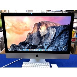 iMac27インチ/Core i7-3.4 GHz/メモリ16G/SSD1TB/A1419/Late...