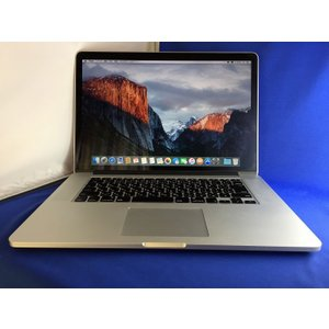 【即納】【送料無料】【中古】MacBookPro Retina 15inch/Core i7/SDD240GB/メモリ16G/Mid2014(A1398) MGXC2J/A|paoonsshop