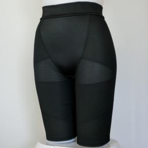 トリンプ パワーネット ミディアム ロングガードル 黒【L】 ブラック 04  triumph 0348  値下げしました。!|paostore