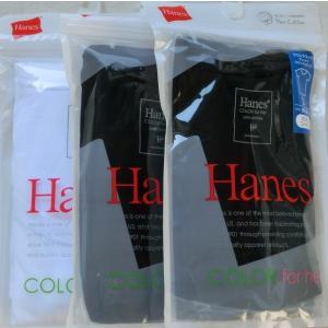 HanesヘインズラウンドネックTシャツ3枚セット HW1-102 【L】 1416け 黒・白・白|paostore