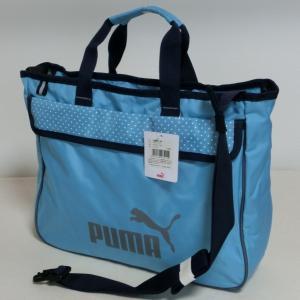 PUMA プーマ 2WAYレッスンバッグ ショルダーバッグ スカイブルー 7211 J20014-36  お稽古|paostore