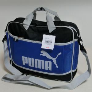PUMA プーマ  074353-03 2WAYレッスンバッグ ショルダーバッグ 青 7212 プーマロイヤル|paostore