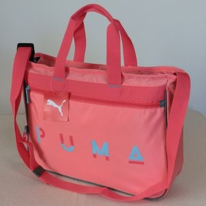 PUMA プーマ 2WAYレッスンバッグ ショルダーバッグ ピンク 7225 J20028-26 お稽古 値下げしました。!|paostore