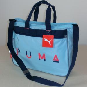 PUMA プーマ 2WAYレッスンバッグ ショルダーバッグ スカイブルー 7225 J20028-36 お稽古 値下げしました。!|paostore