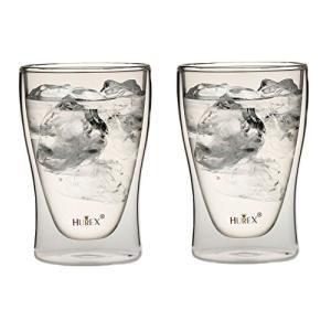Hurex 耐熱ダブルウォールグラス 220ml 2個セット